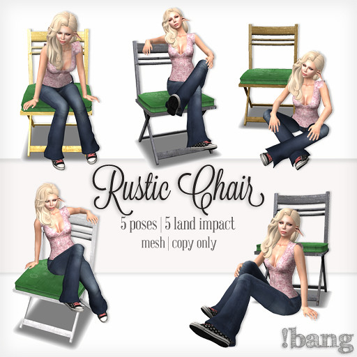 !bang - rustic chair
