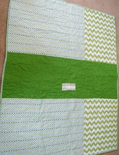 Back of Edward's Quilt