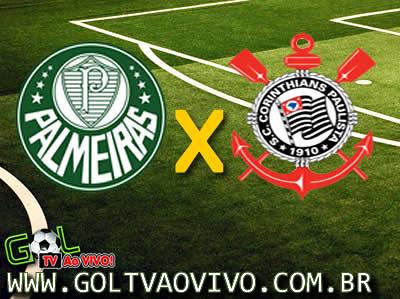 Assistir Palmeiras x Corinthians ao vivo 16h00 Campeonato Brasileiro