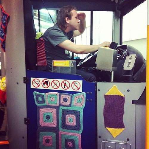 @svelgur driving the yarn bus