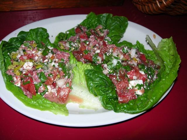 Tomato - Lebanon Bologna Salad