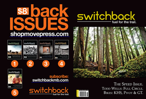 Switchback   October November 2012   Page AD Front Cover