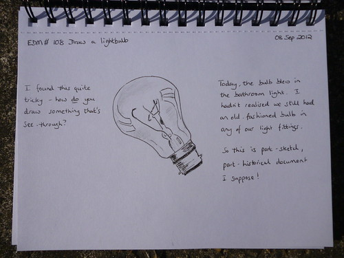 EDM # 108 Draw a Lightbulb