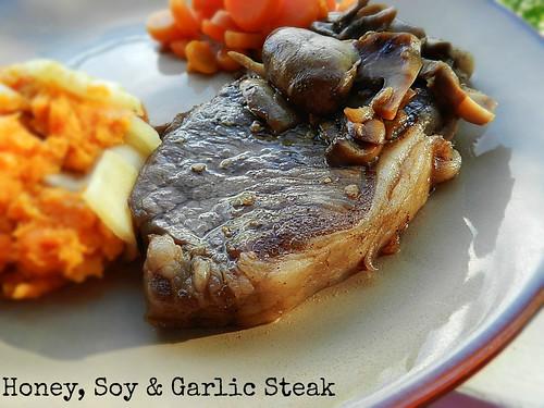 Honey, Soy & Garlic Steak (4)
