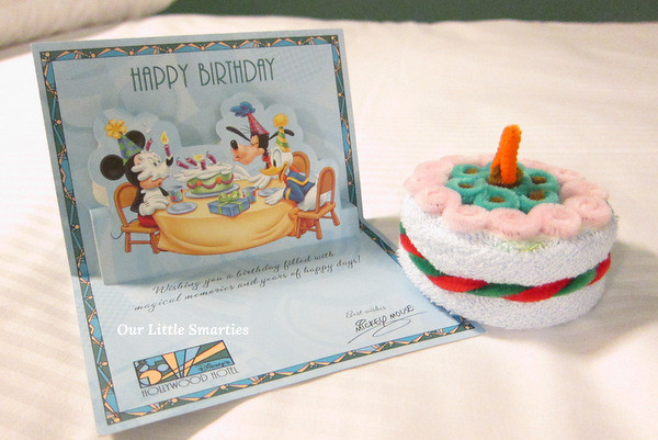 Birthday Card from Mickey