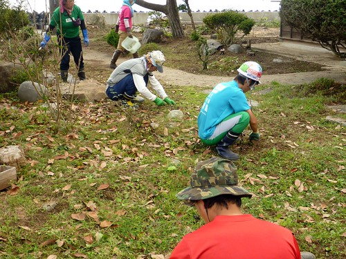 牡鹿半島大原浜でボランティア(援人)  Volunteer Work at Oshika Peninsula, Miyagi pref. Deeply Affected by the Tsunami of Great East Japan Earthquake