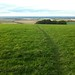 View from the Ridgeway down towards Wantage