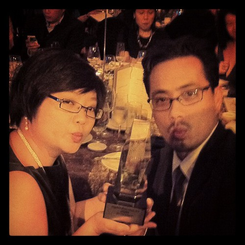 Best Use of Search at the Singapore Media Awards 2012 by phatfreemiguel