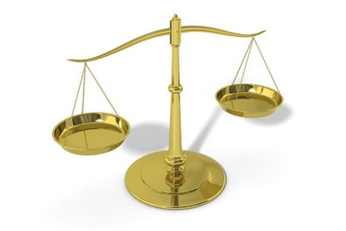 3D Scales of Justice