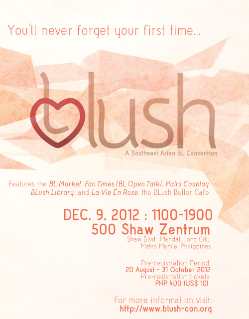 BLush Convention 2014