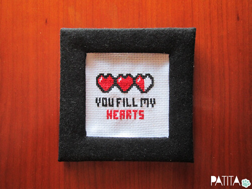 You fill my hearts. Jugones. Geek Love! :)