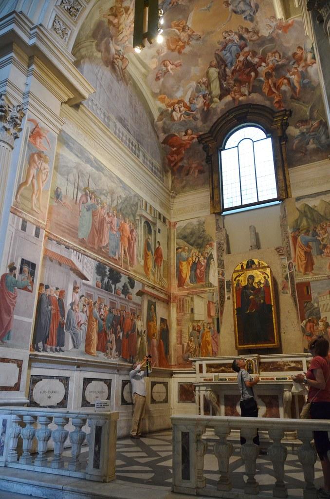 Brancacci Chapel, frescoes by Masolino, Masaccio and Filippino Lippi (15th cent (4)