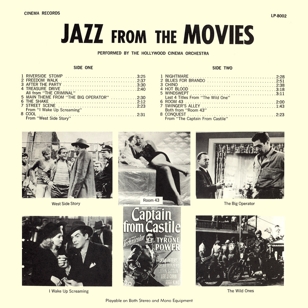 The Hollywood Cinema Orchestra - Jazz from the Movies