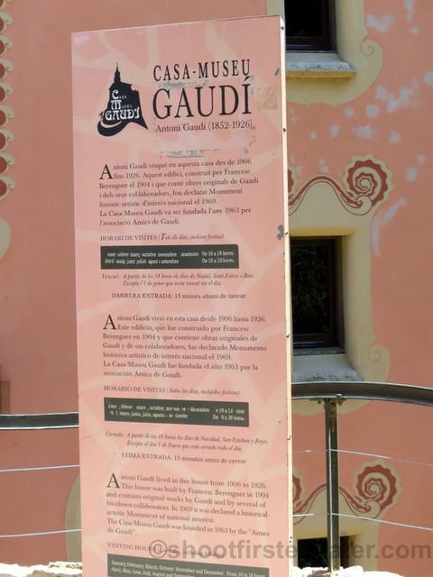 Park Güell- Gaudi museum