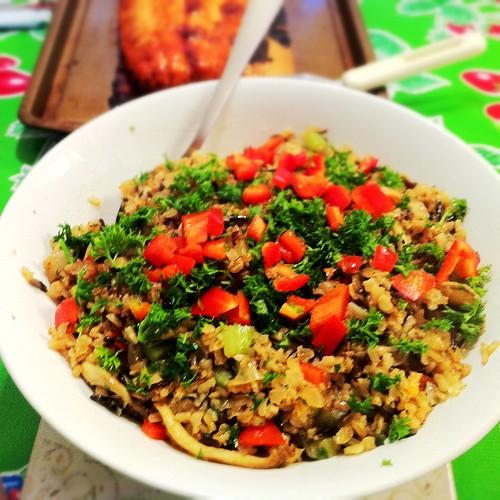 Karl's Wild Rice Pilaf
