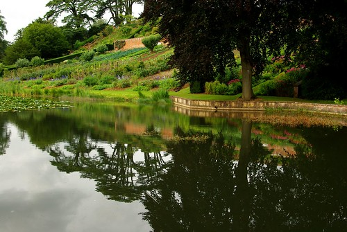 20120831-13_Upton House Gardens - Pond + Alloments by gary.hadden