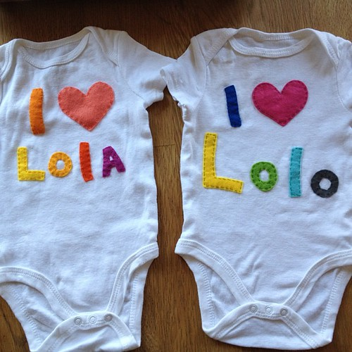 Onesie Making for Grandparents