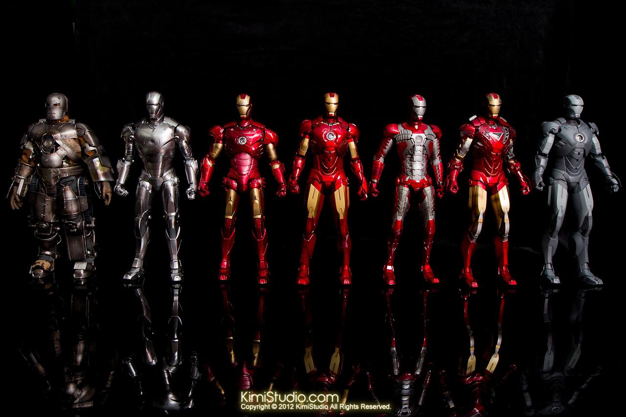各種鋼鐵人盔甲