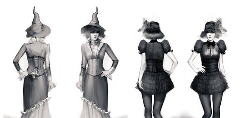 Supernatural - Witch Concept Art