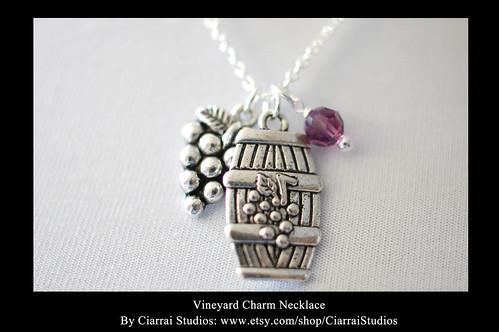 Vineyard Charm Necklace