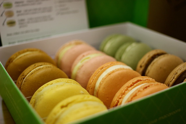 Friday: macarons for my birthday weekend