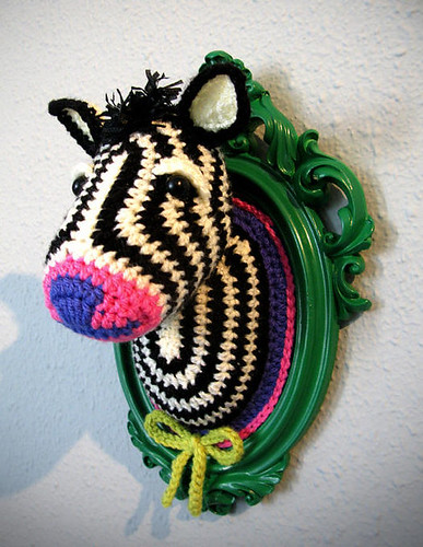 NOT MY WORK! Crochet Zebra by Manafka Mina