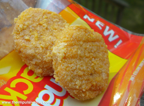 Lunchables Snackers Honey BBQ Chicken Nuggets Closeup