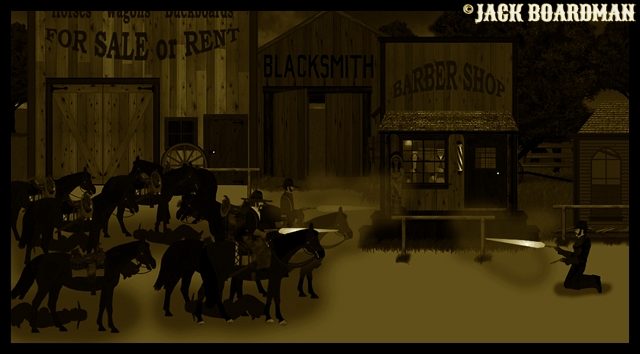 Marshal Kidd's last gunfight ©2012 Jack Boardman