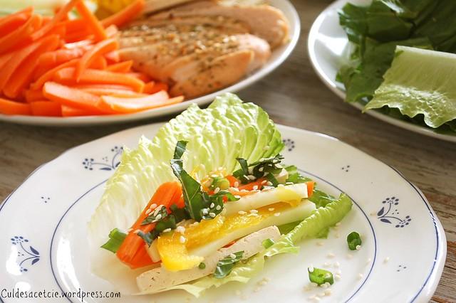 Pinteresting: lettuce wrap