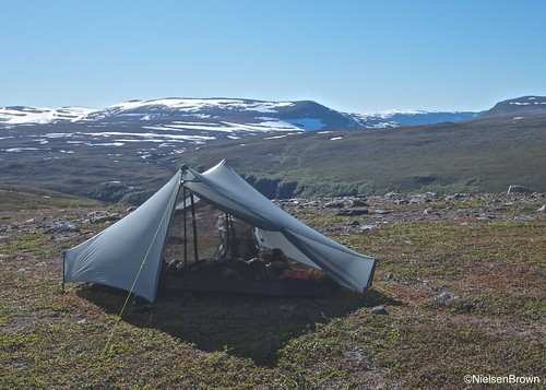 Camp above Buntadalen