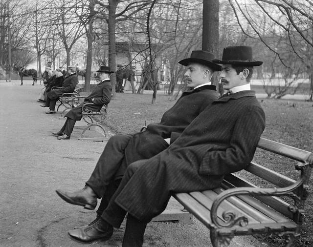 The Esplanade in Helsinki, 1906