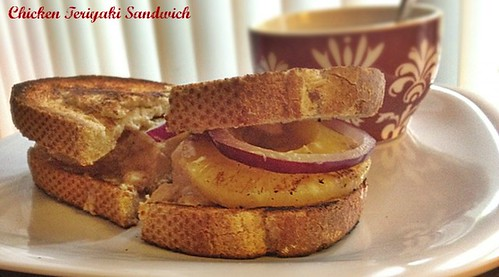 Teriyaki Chicken Sandwich (1)