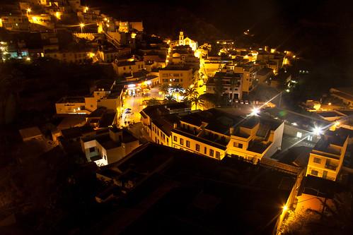 Vallehermoso by night