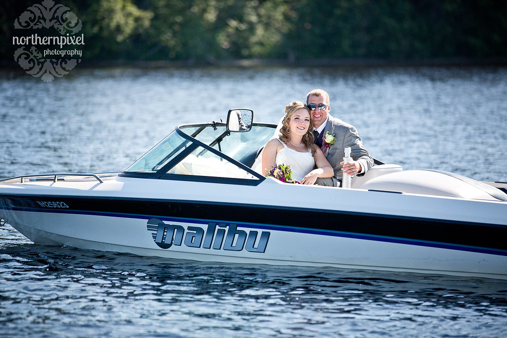 Norman Lake Wedding - near Prince George, BC