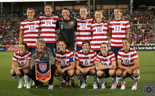 USWNT September 19th 2012 win 6-2 against Australia by Corbin Elliott Photography