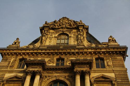 Louvre facades