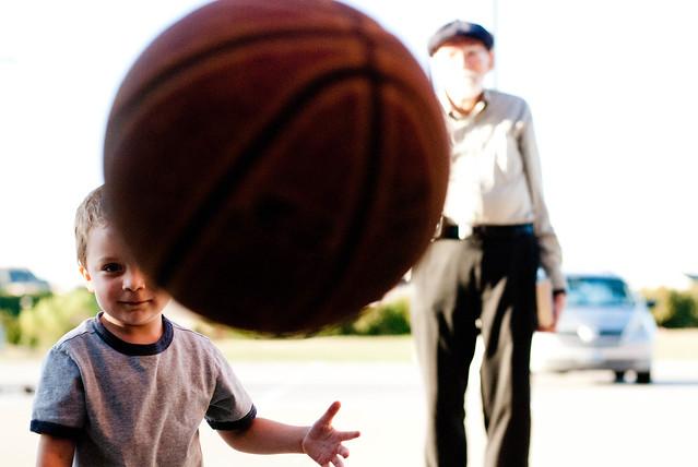 caleb + grandpa