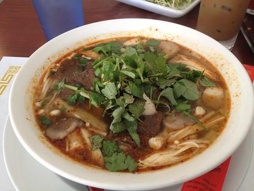 Royal Noodle Soup ($6.50)