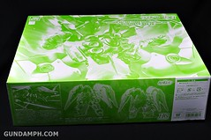HGUC Kshatriya Pearl Clear (green) Binder Ver. Unboxing Pictures (4)