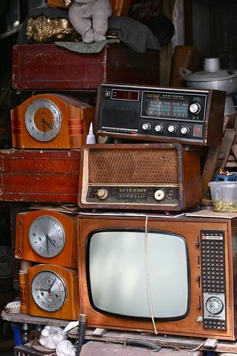 Electronics - Antique market, Shanghai