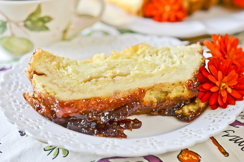 Buttered Toast & Jam Pudding 1