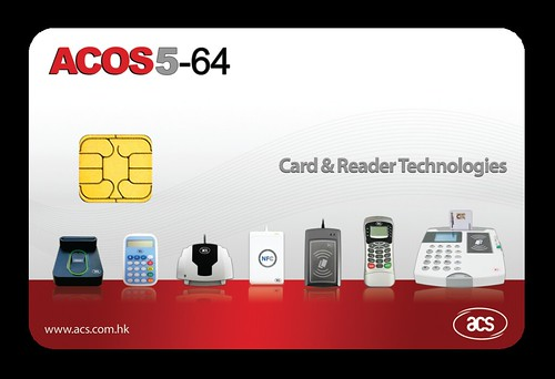 ACOS5-64 Contact Card