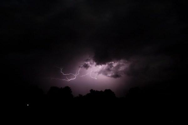 Orage du 30 août 2012 à Sennevoy le bas (Yonne)