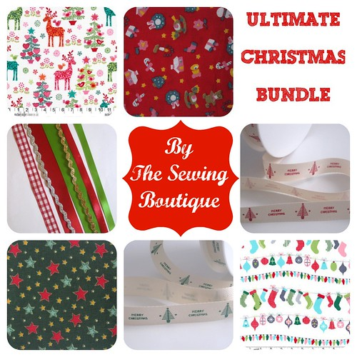 Christmas giveaway from The Sewing Boutique