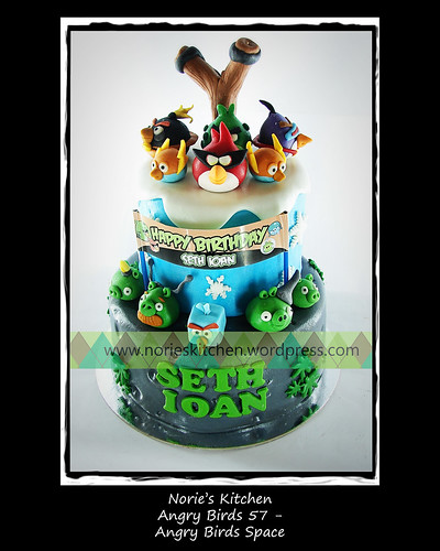 Norie's Kitchen - Angry Birds Space - Angry Birds 57 by Norie's Kitchen