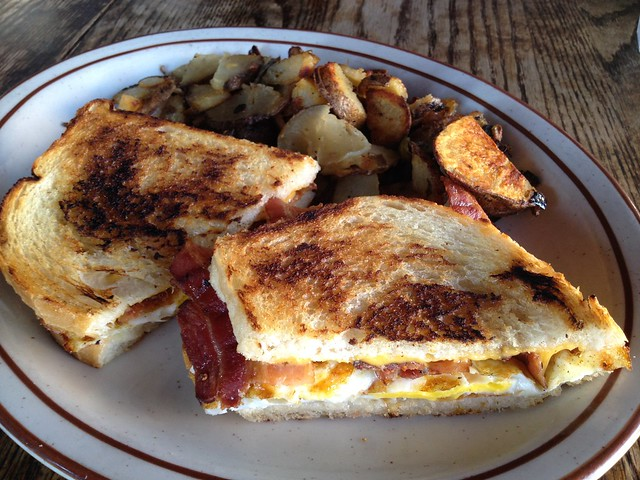 Breakfast sandwich - Big Ed's Alley Inn