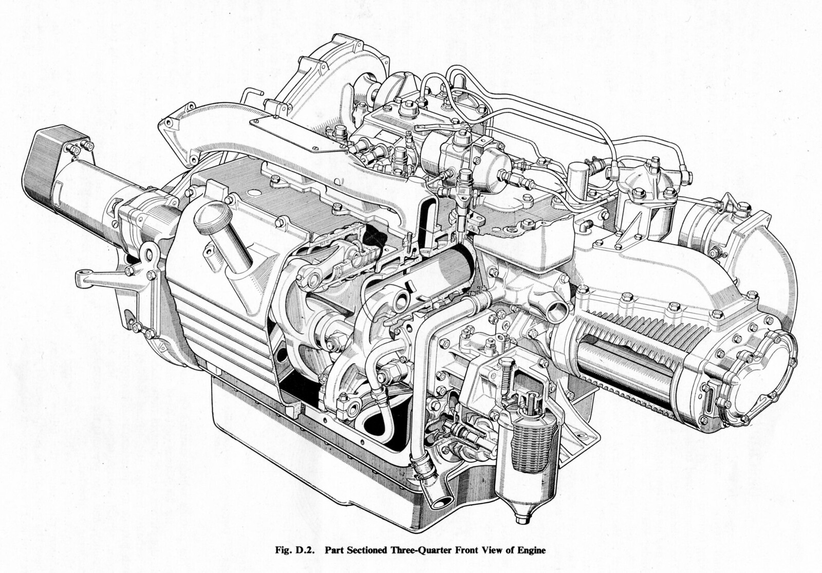 The Amazo Effect The Cutaway Diagram Files Commer Ts3 2 Strokesel Engine
