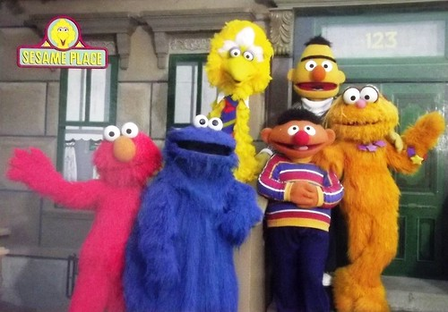 The Sesame Street Gang (Sesame Place Postcard)