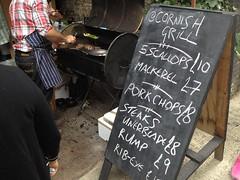 Cornish Grill. Maltby Street Market