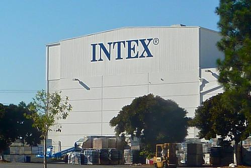 INTEX wall mural